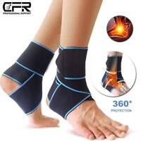 Sport Ankle Support Compression Plantar Fasciitis Foot Wrap Strap Brace Bandage