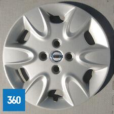 1 X NEW GENUINE NISSAN MICRA K12 CAR HUB CAP WHEEL COVER TRIM SILVER 40315BG00B
