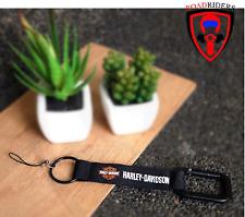 Roadriders' Car Brand Harley Davidson Black Keychain