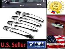 Chrome Door Handle Cover Trim Fit CHEVROLET Chevy Cruze Sonic Malibu BUICK Regal