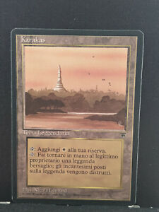 M:TG Karakas Legends Italian NM 9.5