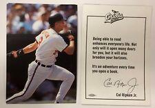 Cal Ripken Jr Team Issued Baltimore Orioles Vintage Postcard