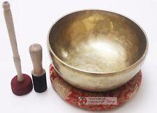 """12"""" Master healing singing bowl plain set - meditation bowl"""