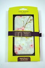 Official Ted Baker Ss17 Brook Mirror Case Fits iPhone 7 Oriental Blossom
