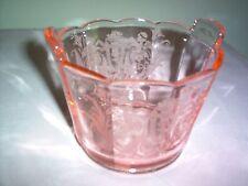 "Paden City Cupid Pink 4 3/4"" Tab-Handled Ice Tub - MINT - RARE - A BEAUTY!"