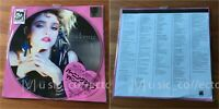 D26 MADONNA The first album Japan Stickered LP Picture disc R1-15002