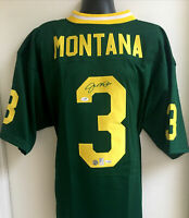 Joe Montana Notre Dame Fighting Irish Autographed Signed Jersey Fanatics JSA COA