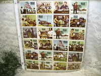 Full Sheet Christmas Seals Boys Town Stamps