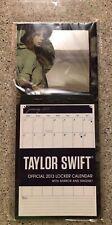 NEW Taylor Swift Academic LOCKER Calendar with MIRROR & MAGNET 2013