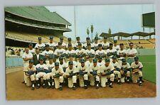 1962 Los Angeles Dodgers Stadium Team Photo w/ Sandy Koufax Postcard RARE