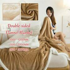 Soft Home Textiles Blanket Coral Fleece Summer Accessories Household Blanket O3