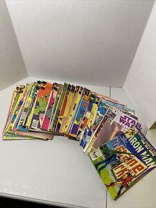 Vintage Comic Book Lot - (47 Comics) - Marvel, Gold Key, Whitman, Charlton
