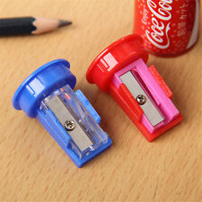 Cute Mini Cola Drink Can Pencil Sharpener With Eraser Student School Supplies