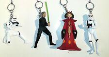 Star Wars Schlüsselanhänger /  8 cm Figuren 4er Set NEU