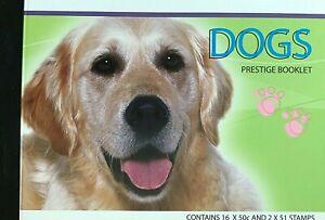 2004 Dogs Australian Prestige Stamp Booklet