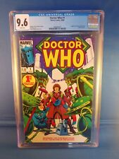 Doctor Who #1 Marvel CGC 9.6 Near Mint+ White Pages