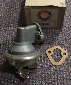 40988 NEW NOS Mechanical Fuel Pump - M6625 - 1973 Chevrolet GMC Pontiac 307 V8
