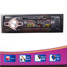 AUTORADIO STEREO AUTO RADIO 45WX4 TELECOMANDO BLUETOOTH SLOT SD USB AUX MP3 SC0
