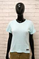 Maglia CHAMPION Donna Taglia Size L Maglietta Shirt Woman Cotone Manica Corta