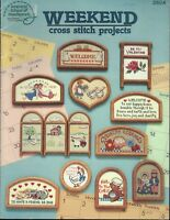 Weekend Cross Stitch Projects 14 Counted Cross Stitch Patterns Projects