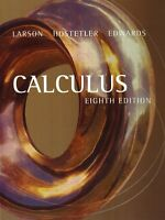 Calculus by Larson & Hostetler 8th Edition