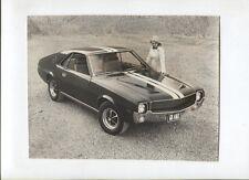 N°10153 /  AMC : photo d'epoque coupé V8 AMX february 1968