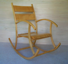 Rocking chair, handmade.