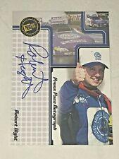 Robert Hight PRESS PASS SIGNINGS AUTHENTICS 2005 CAA autographed card RARE!!!