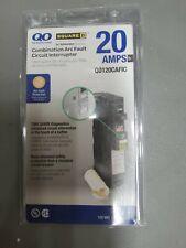 Square D Qo 20 Amp Q0120Cafic Single-Pole Combination Arc Fault Circuit Breaker