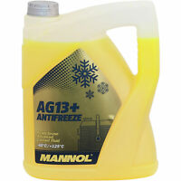 5 Liter MANNOL Kühlerfrostschutz Fertiggemisch Antifreeze AG13+ -40°C Gelb