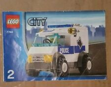 Lego 7744 Instructions Book 2 Only - Lego City