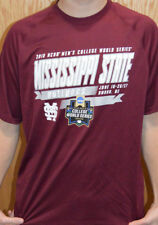 2018 COLLEGE WORLD SERIES MISSISSIPPI STATE BULLDOGS UNDER ARMOUR SHIRT 2XL