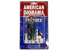 Figurine Patrick avec Chien pour 1 18 Modèles / American Diorama