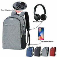 Men's and women's anti-theft USB charging backpack laptop shoulder bag travel