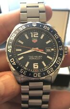 Tag Heuer Formula 1 Gents Watch Blue WAZ1010 RRP £1050 Boxed & Papers