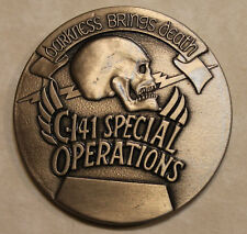 437th Military Air Wing MAW Special Operations C-141 Air Force Challenge Coin