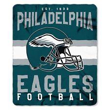 Philadelphia Eagles NEW Licensed Fleece Throw Blanket Football Team 50'' X 60''