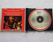 BUXTEHUDE Chamber music Vol.3/HOLLOWAY-WEISS-LINDEN-RASMUSSEN-MORTENSEN CD