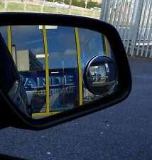 Convex BLIND SPOT MIRROR Towing Reversing Driving SELF ADHESIVE Car Van Bikes
