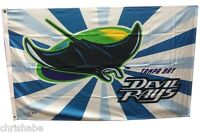TAMPA BAY DEVIL RAYS MLB 3X5 FLAG BANNER FLAGPOLE FLAG CLOSEOUT FREE SHIPPING