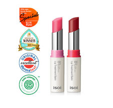 Isoi Lip Treatment Balm Colorful Lip Protector (Pure Red / Baby Pink) Korean Cos