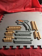 Thomas The Train Plastic Track Tan And Gray Train Track Pieces, LOT OF 8