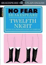 No Fear Shakespeare Twelfth Night by Sparknotes (Paperback, 2003)
