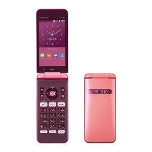 KYOCERA KYF37 GRATINA 2 WIFI KEITAI ANDROID FLIP PHONE PINK UNLOCKED NEW KYF31