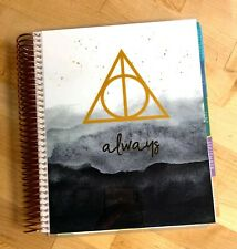 New listing Harry Potter Deathly Hallows Inspired Cover Set 4 use w/ Erin Condren Planner