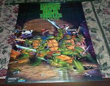 Teenage Mutant Ninja Turtles Vintage 80s Poster Movie