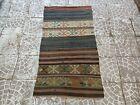 Handwoven Turkish Kilim Rug,Home living Rug,Bohemian Wool Rug,Vintage Rug