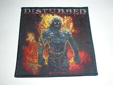 DISTURBED INDESTRUCTIBLE WOVEN PATCH