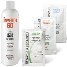 Formaldehyde-Free Inverto 60 Advanced Gel Keratin Hair Treatment Starter Kit 4oz