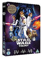 Star Wars - The Original Trilogy tin box (DVD, 2006, 6-Disc Set, Box Set)